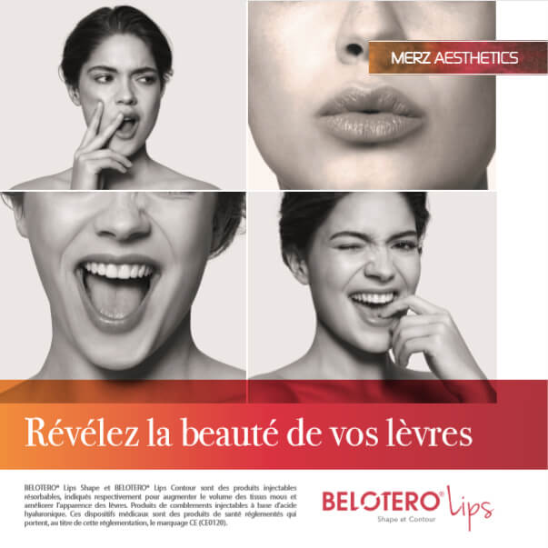 Visuel de la brochure Belotero Lips